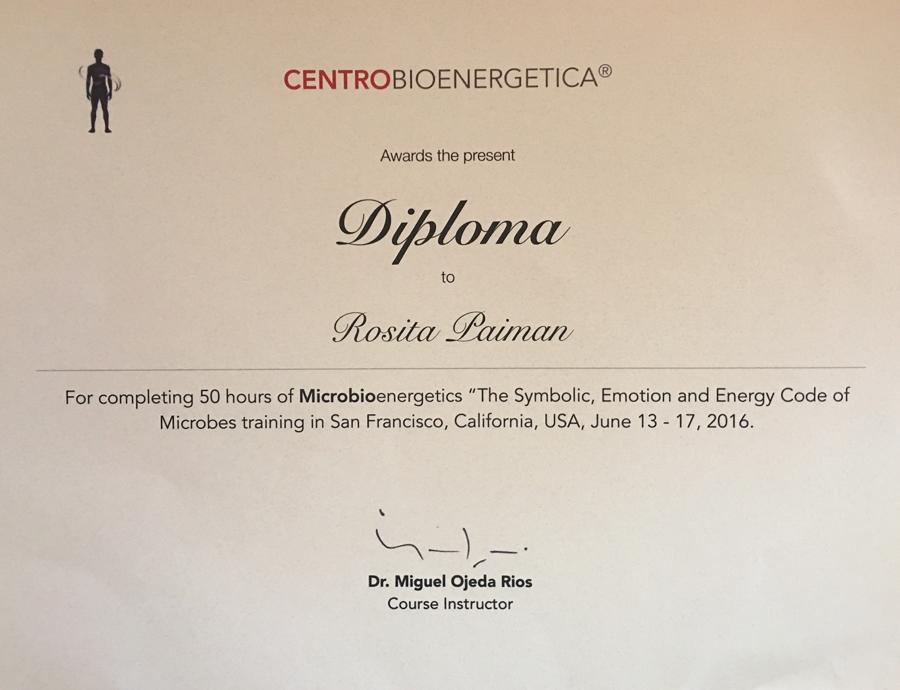 Rosita diploma